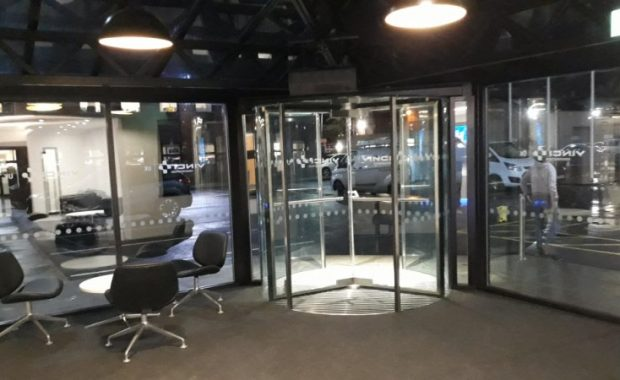 Tnis is a picture of Vinci Head Office Reception